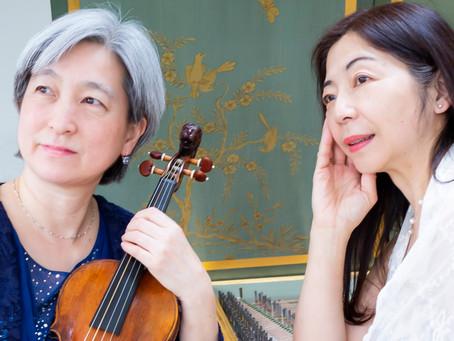 山縣さゆり&天野乃里子、オランダ在住の古楽奏者がバッハ全6曲を日本で共演