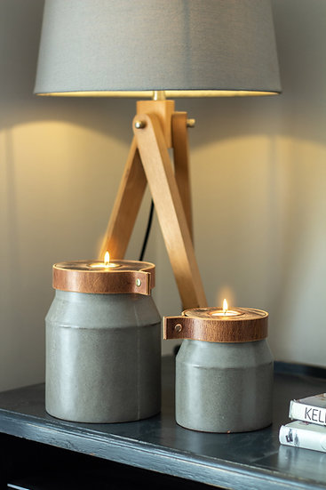 modern Rustic: Child Cremation Urn Personalised SMALL/MEDIUM