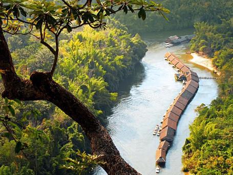 Thailand: Deine Hütte mitten auf dem River Kwai