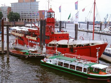 Hamburg: Eine Nacht auf einem Feuerschiff