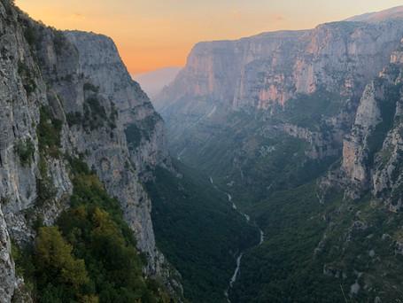 Tiefste Schlucht der Erde? In Griechenland!
