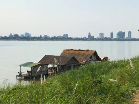 Phnom Penh: Dein Mekong Hausboot mit Panorama