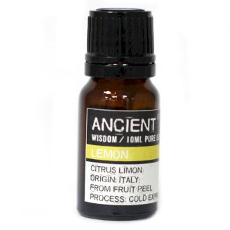 Ancient Wisdom Lemon Aromatherapy Essential Oils -10ml