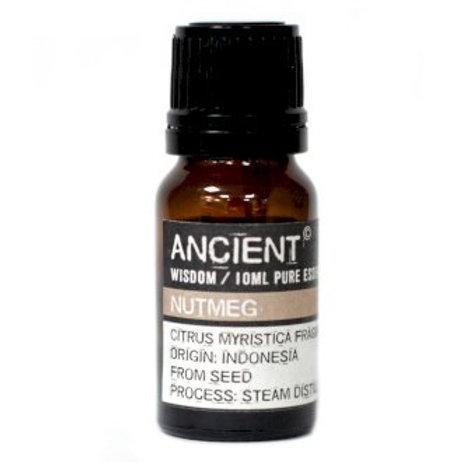 Ancient Wisdom 10ml Nutmeg Essential Oil Aromatherapy