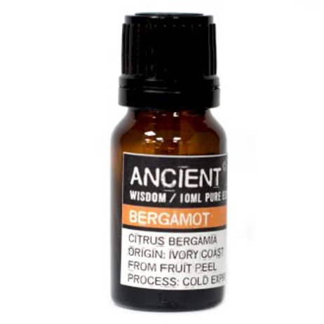 Ancient Wisdom Bergamot Aromatherapy Essential Oils -10ml