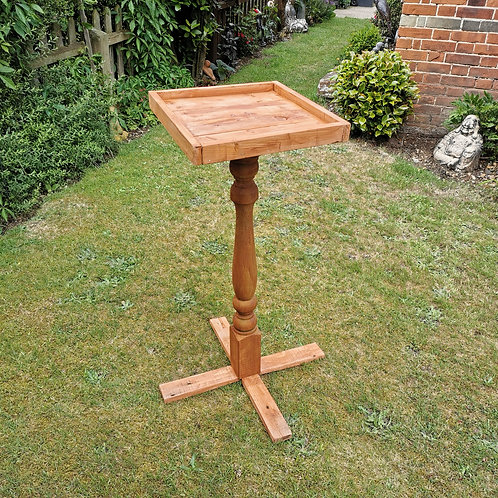 Handmade Reclaimed Bird Table/Feeder