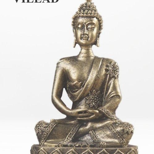 Nature Sandstone India Buddha Statue Fengshui Sitting Buddha