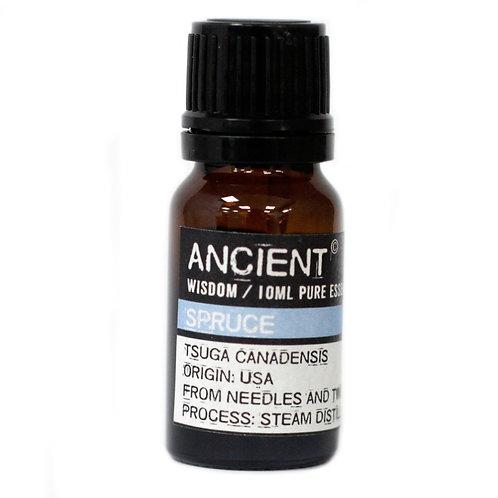 Ancient Wisdom 10ml Spruce Essential Oil Aromatherapy