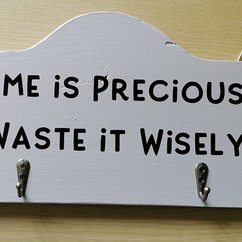 Handmade Wood Plaque / Wall Hanging / Keys / Dog Leads etc
