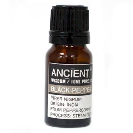 Ancient Wisdom  Blackpepper Aromatherapy Essential Oils -10ml