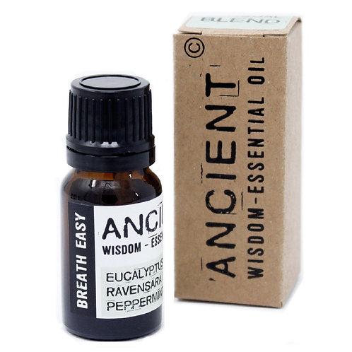 Ancient Wisdom 10ml Breath Easy Essential Oil Blend - Boxed