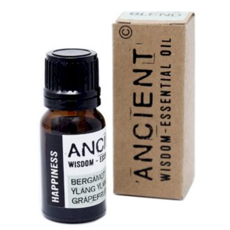 Ancient Wisdom 10ml Happiness Essential Oil Blend - Boxed
