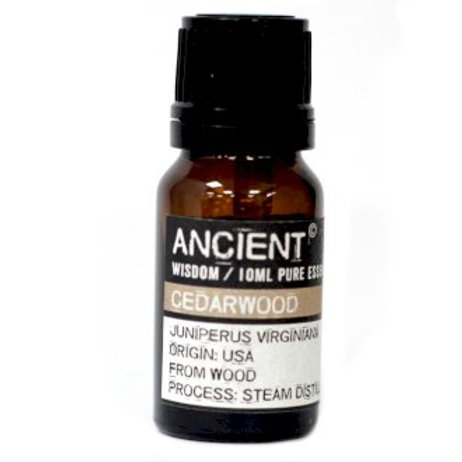 Ancient Wisdom  Cedarwood Virginian Aromatherapy Essential Oils -10ml