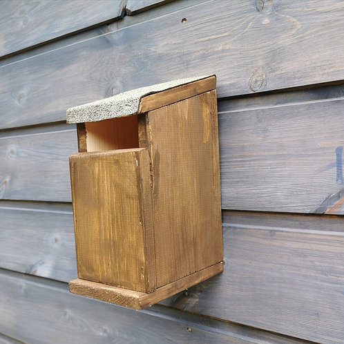 Handmade Small Robins / Woodpecker Nesting Box