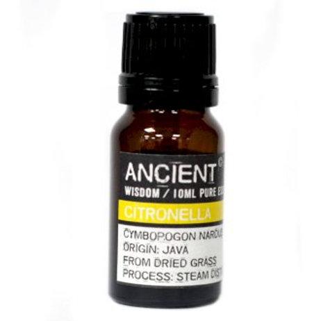 Ancient Wisdom Citronella Aromatherapy Essential Oils -10ml