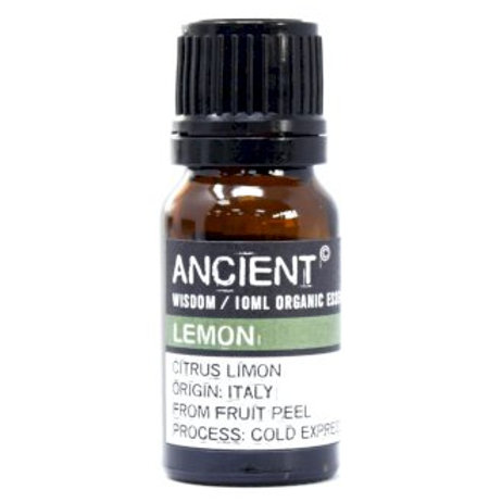 Ancient Wisdom 10ml Organic Lemon Essential Oil Aromat