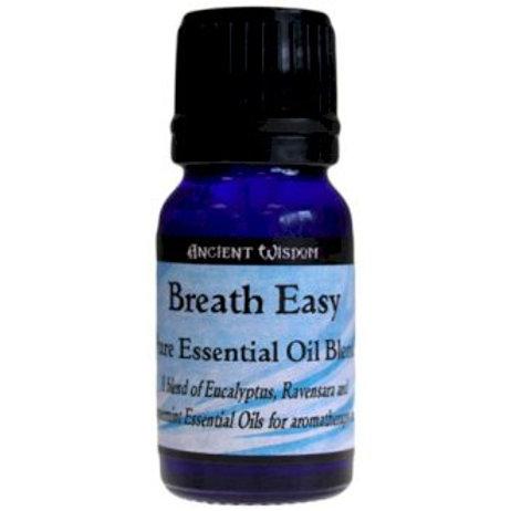 Ancient Wisdom 10ml Essential Oil Blends /Breathe Easy Blend
