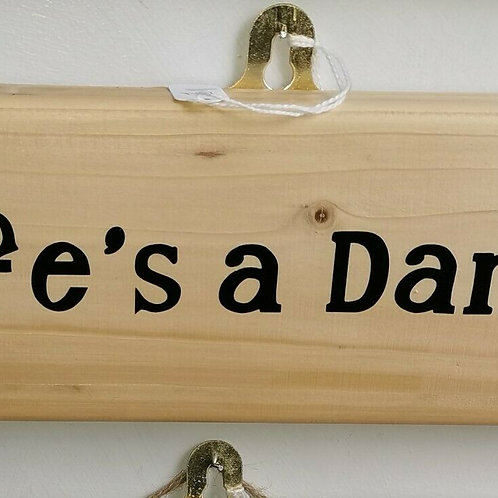 Wooden Wall Plaques / Personalise with your Saying you like