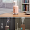 Thumbnail: Pink Air Humidifier For Home USB Bottle Aroma Diffuser LED include Light and Fan