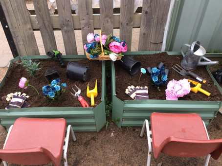 Our Gardening Station