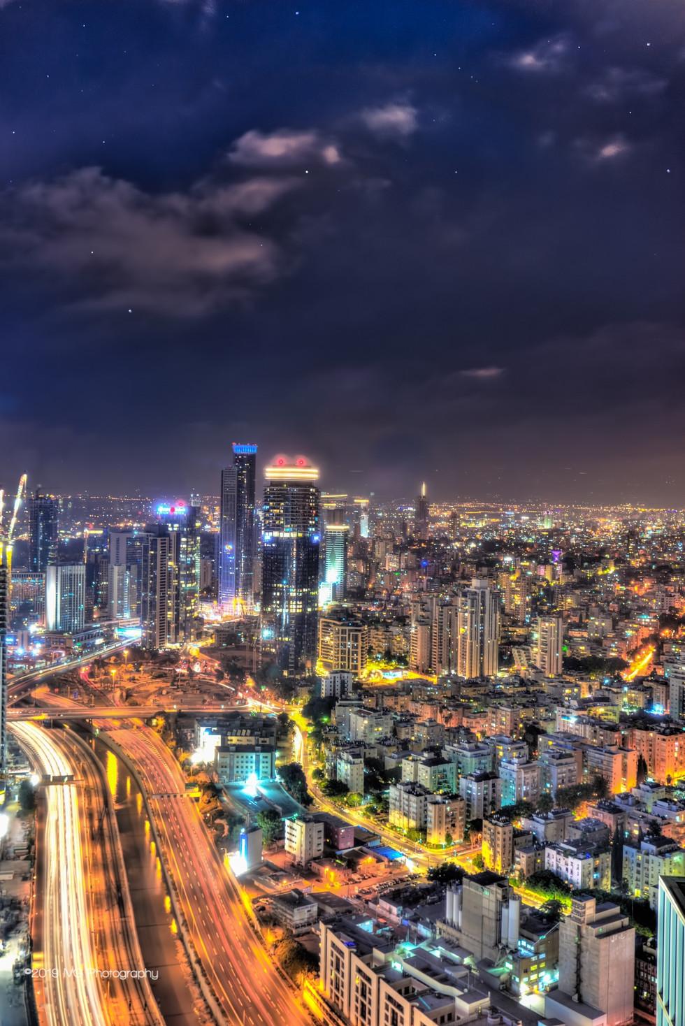 Tel Aviv at Night No. 2