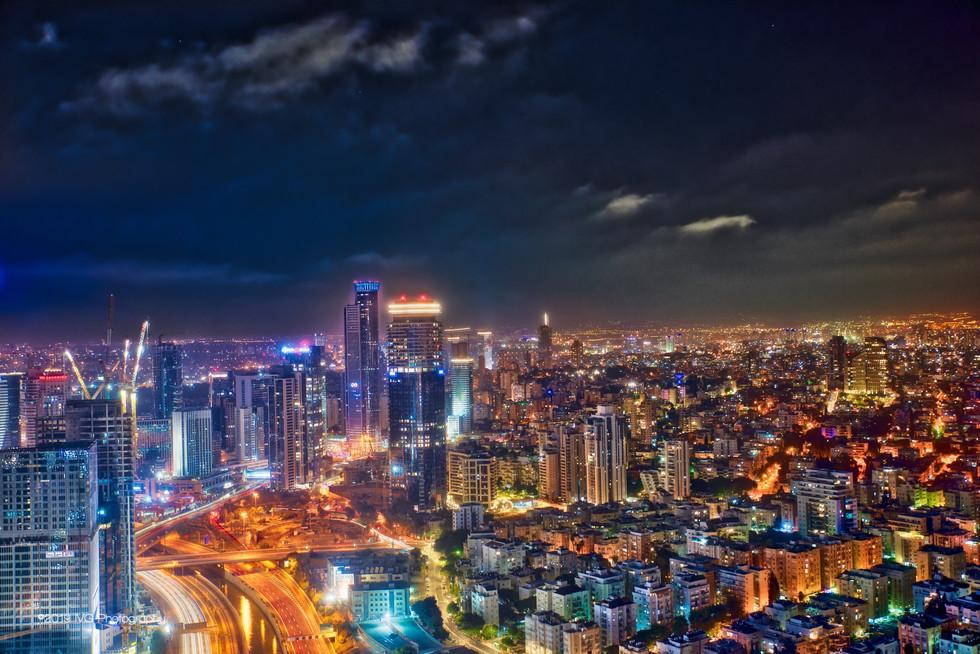 Tel Aviv at Night No. 1