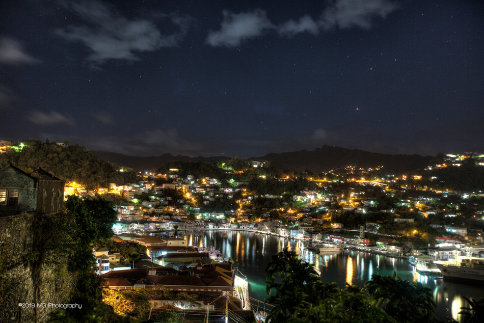 Grenada at Night No. 1