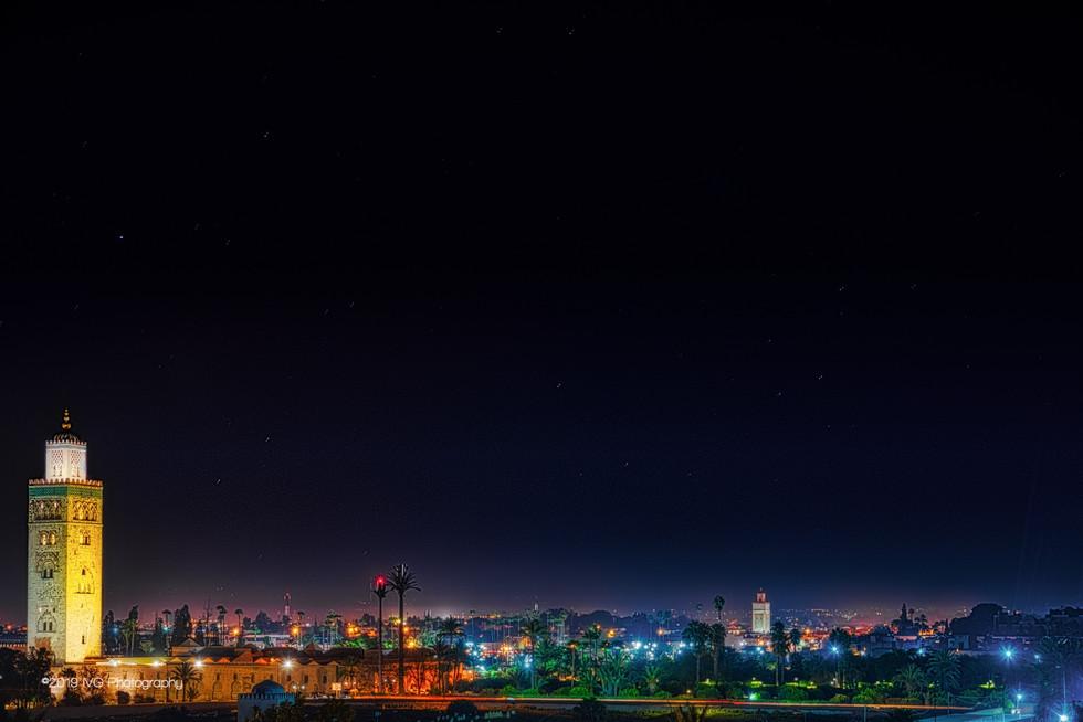 Marrakesh at Night No. 1