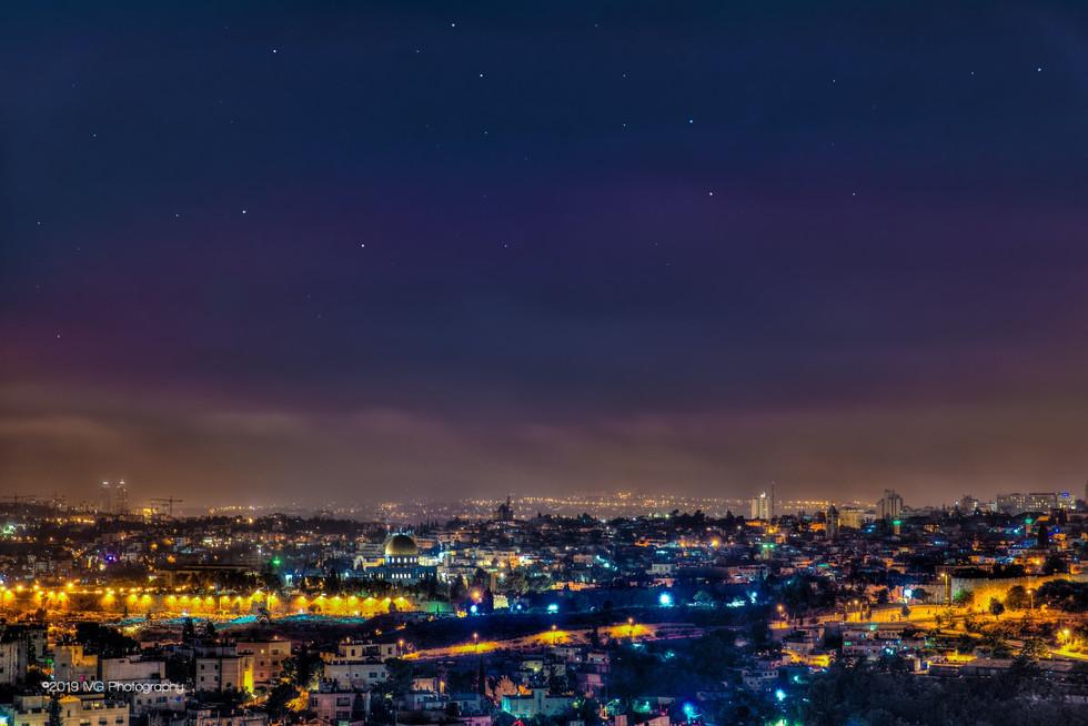 Jerusalem at Night No.2