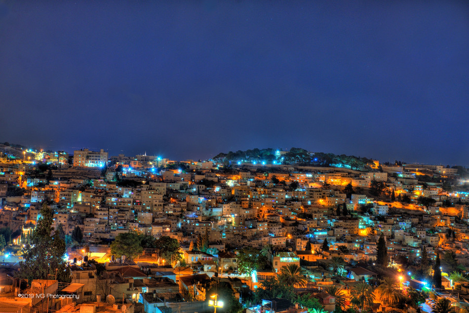 Jerusalem at Night No.1