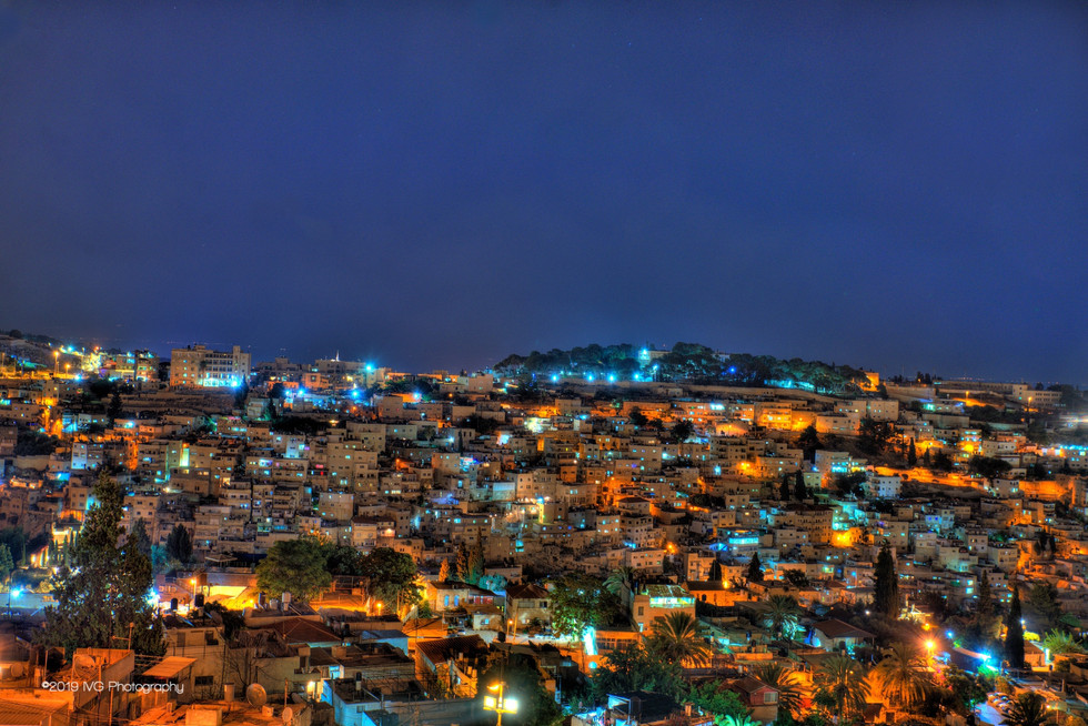 Jerusalem at Night No.1