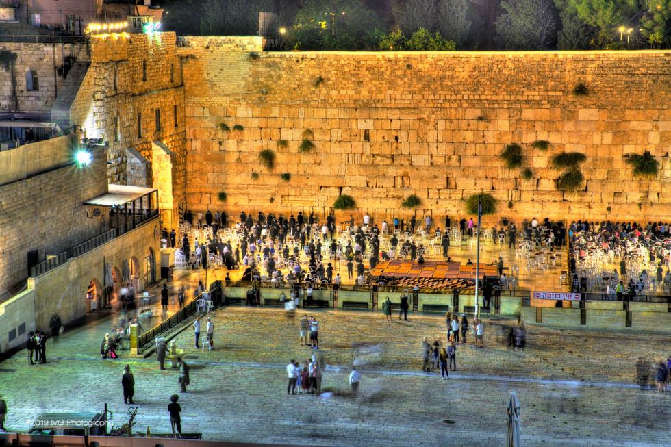 Jerusalem at Night No. 6