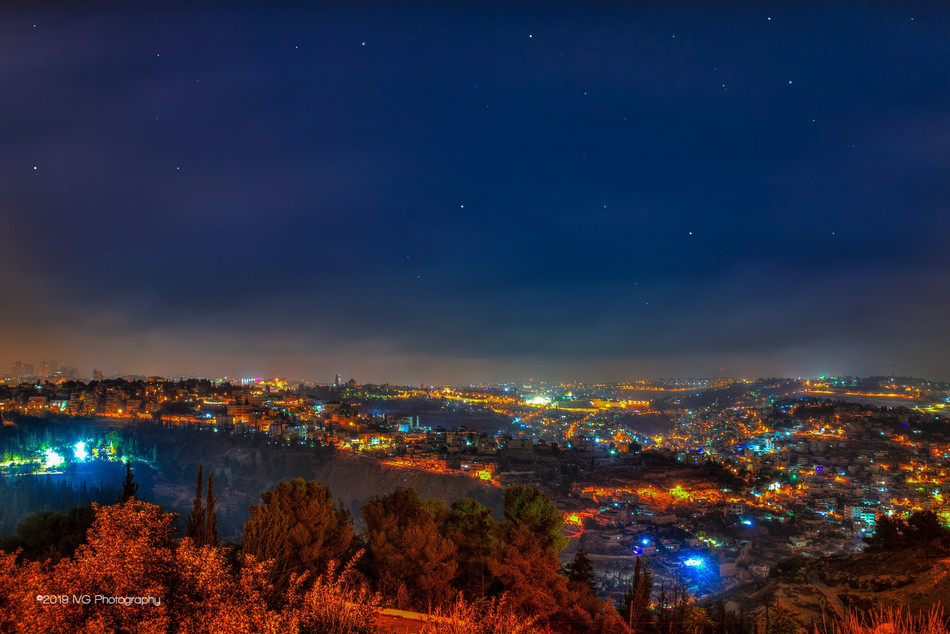 Jerusalem at Night No.4