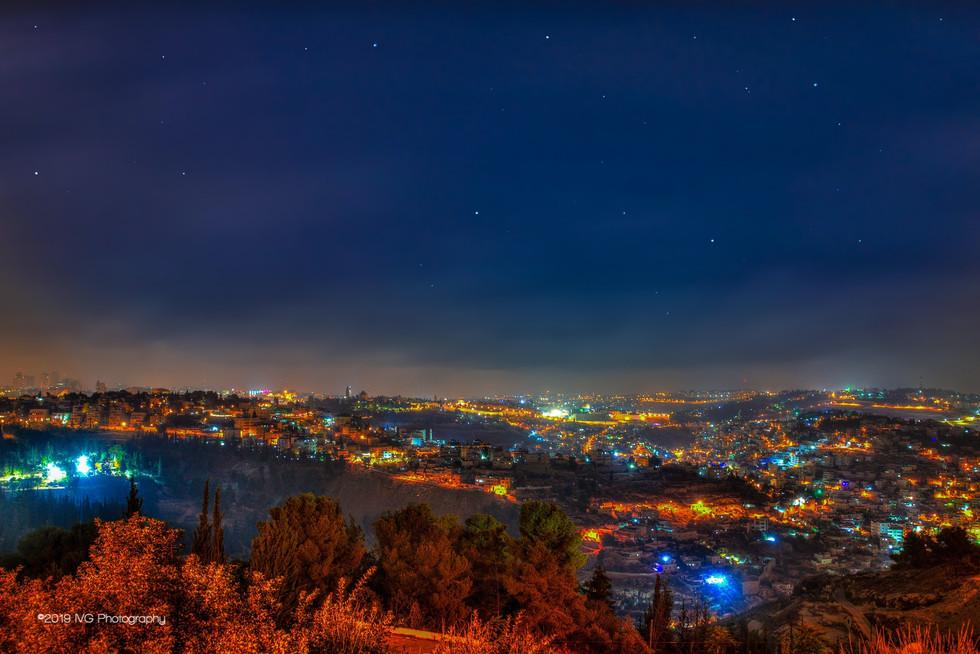 Jerusalem at Night No.4