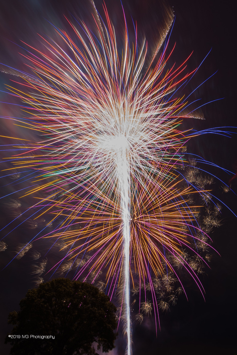 4th of July Fireworks No. 7