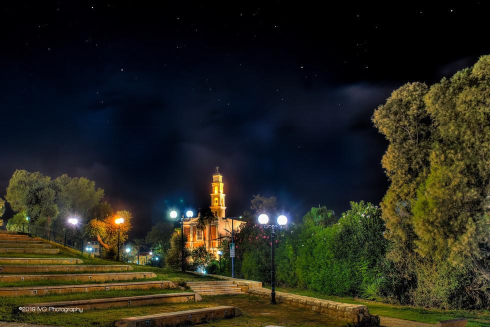 Tel Aviv at Night No. 8