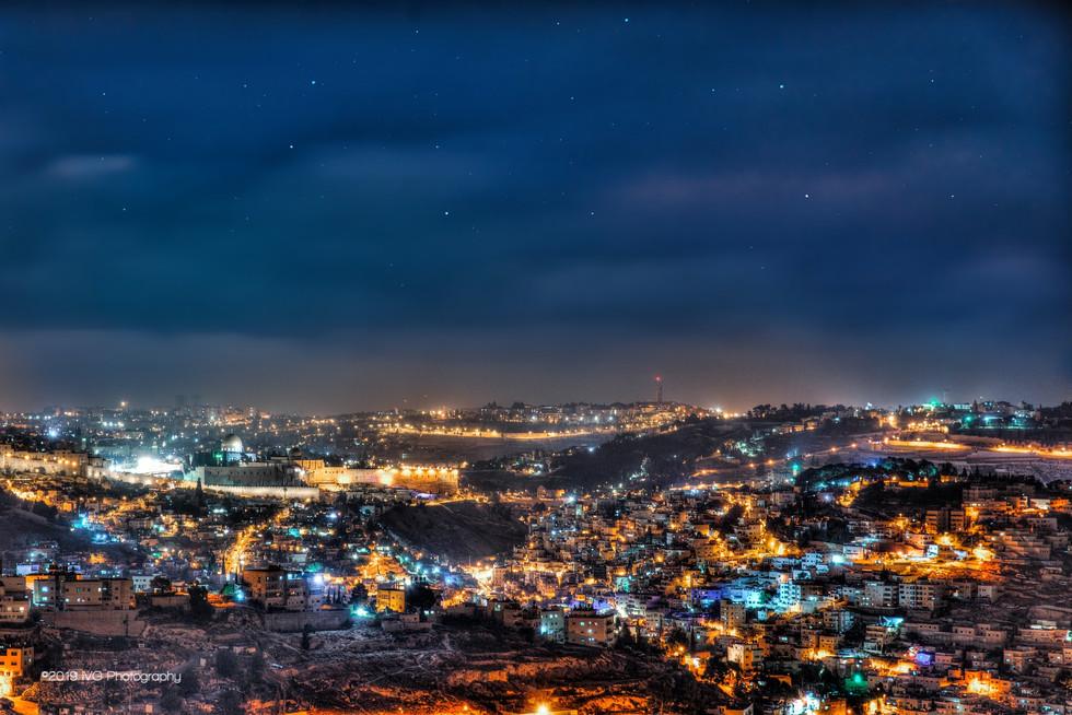Jerusalem at Night No.3