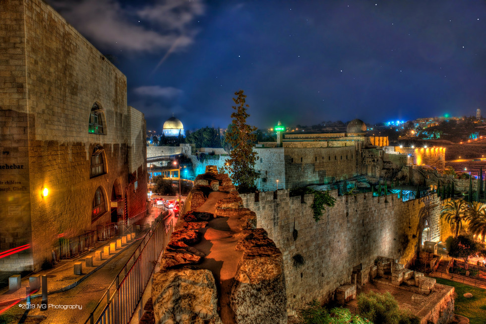 Jerusalem at Night No. 5