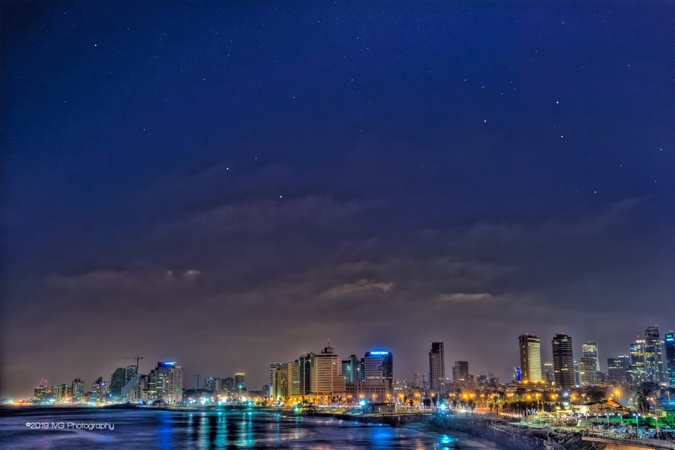 Tel Aviv at Night No. 3
