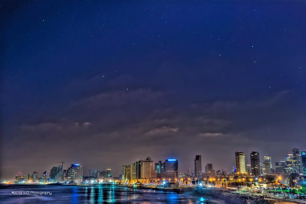 Tel Aviv at Night No. 3