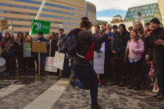 15/3/2019 : Manifestation étudiante pour le Climat