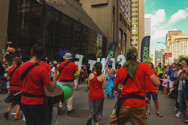 20/8/2017 : Défilé de la fierté pour RÉZO
