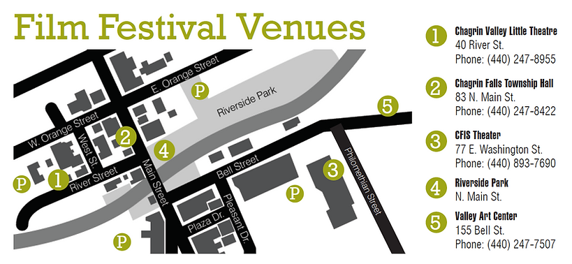 CDFF venue map
