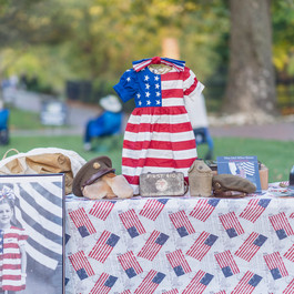Girl who wore freedom table in park_2020