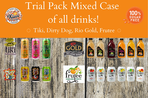 Kiwi Beverages Trial Pack - 18 Products to Try