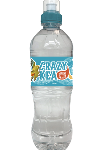 Crazy Kea Still Water - 12 x 750ml Sipper Cap