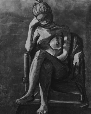 Nude Charcoal Reduction 1