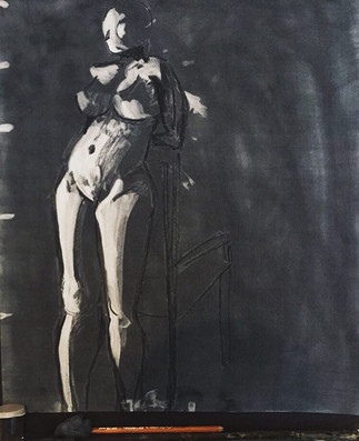 Nude Charcoal Reduction 2
