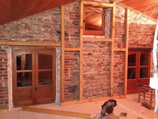 Chambre Lolas - Isolation en matériaux naturels