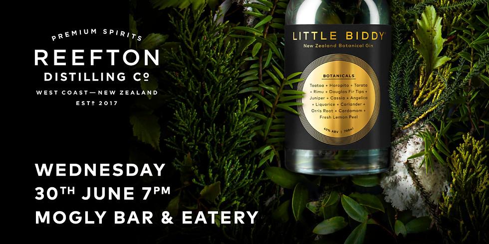 Exclusive Reefton Distilling Co. Spirit Tasting